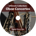 Ultimate Collection: OBOE CONCERTOS Sheet Music (CD)