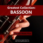 Bassoon Sheet Music Collections (Bundle Packs) 6 CDs