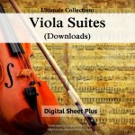 Viola Suites Sheet Music Ultimate Collection (Downloads)