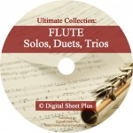 Ultimate Collection: Flute Solos, Duets, Trios Sheet Music on DVD