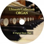 Ultimate Organ Sheet Music Collection on CD