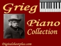 Grieg Piano Sheet Music Collection