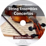 String Ensembles Concertos Sheet Music Ultimate Collection on DVD