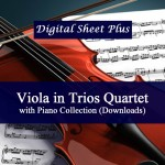 Viola in Trio or Quartet with Piano Collection