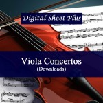 Viola Concertos Sheet Music Collection