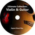 Ultimate Collection: Violin & Guitar Sheet Music (DVD)