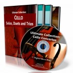 CELLO Sheet Music Collections - Bundle Pack  (5 DVDs)