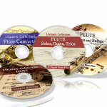 Flute Sheet Music Collections (Bundle Packs) 4 CDs