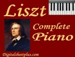 Liszt Complete Piano Sheet Music Collection in pdf format