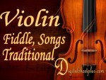 Violin Fiddle, Songs and Traditional sheet music