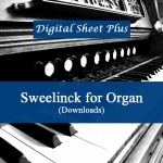 Sweelinck for Organ sheet music