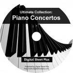Piano Concertos Sheet Music Ultimate Collection (DVD)