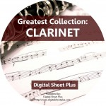 Greatest Collection: CLARINET Sheet Music on DVD