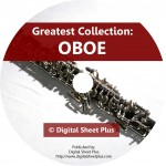Greatest Collection: OBOE Sheet Music on DVD