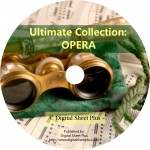 Ultimate Collection: OPERA Sheet Music on DVD