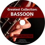 Greatest Collection: BASSOON Sheet Music on DVD