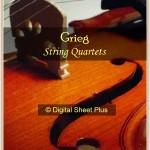 Grieg String Quartet Sheet Music