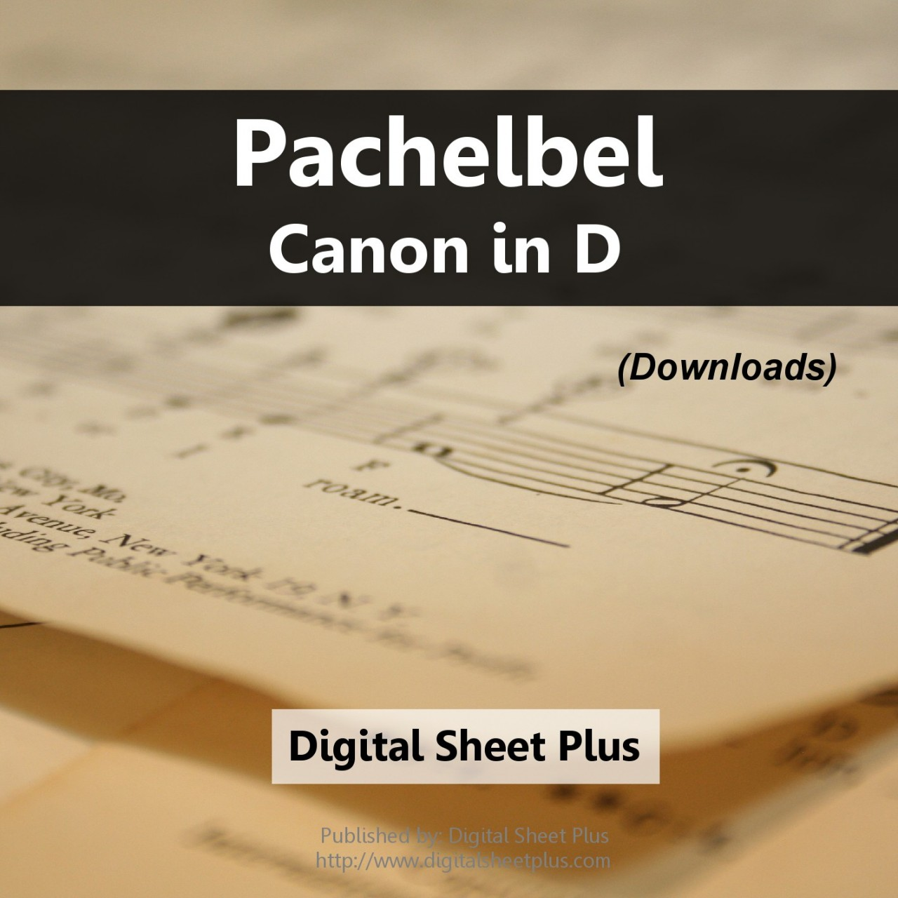Buy Pachelbel Canon In D Sheet Music Downloads From