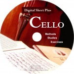 Cello Methods, Studies and Exercises Collection (CD)