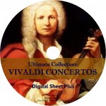 Ultimate Collection: Vivaldi Concertos Sheet Music on DVD