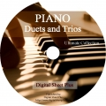 Ultimate Collection: PIANO DUETS and TRIOS Sheet Music on DVD