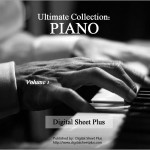 PIANO Sheet Music Collections - Bundle Pack  (5 DVDs)