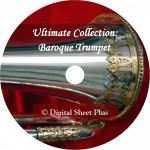 Baroque Trumpet Concertos Sheet Music + Audio on CD