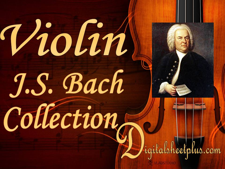 J.S. Bach - Violin Complete Collection sheet music ...