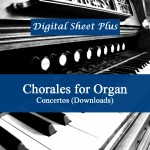 Chorales for Organ sheet music collection