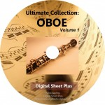 Ultimate Collection: OBOE Volume 1 Sheet Music on DVD