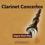 Clarinet Concertos Sheet Music Collection (Downloads)