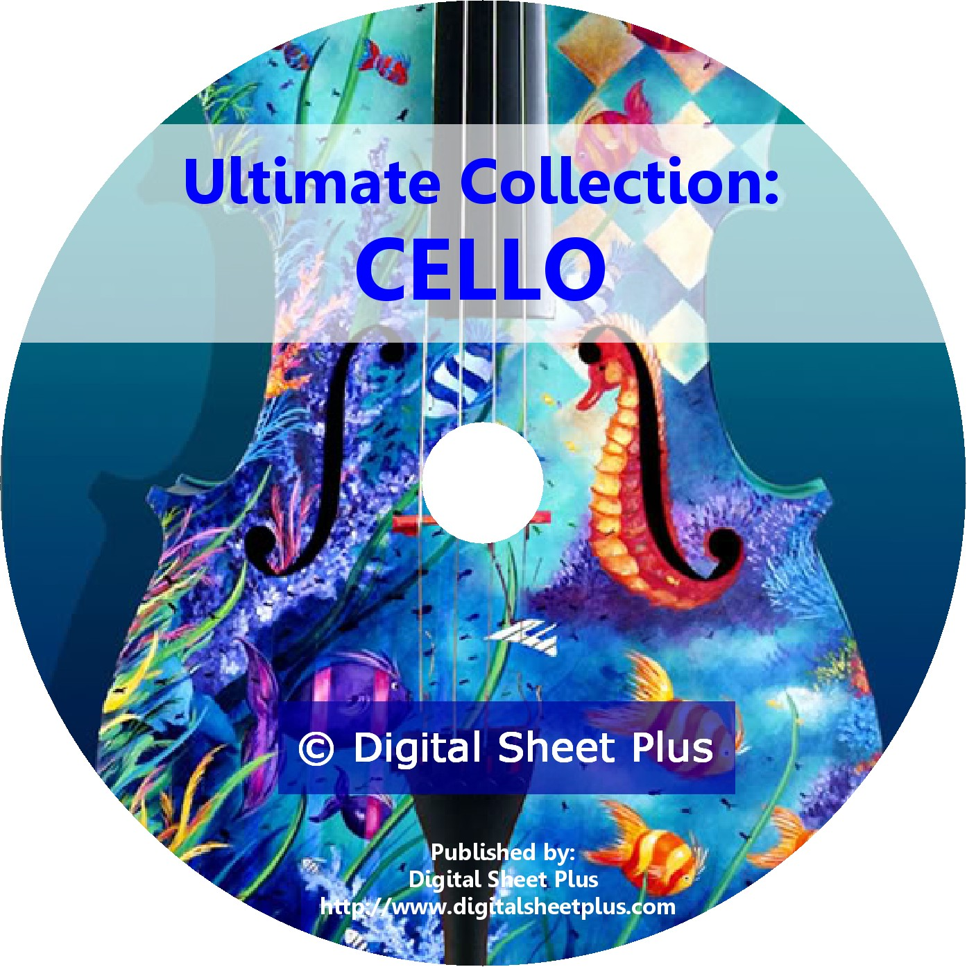 Ultimate Collection Cello Sheet Music On 2 Dvds
