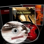 VIOLIN Sheet Music Collections - Bundle Pack  (4 DVDs and 1 CD)