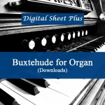 Buxtehude for Organ Sheet Music Collection