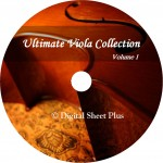 Ultimate Viola Collection Volume 1 on CD