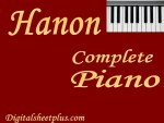 Hanon Complete Piano Sheet Music Collection