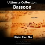 Bassoon Volume 1 Sheet Music Collection (Downloads)
