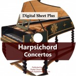 Harpsichord: Concertos Ultimate Sheet Music CD Collection
