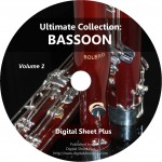 Ultimate Collection: BASSOON Sheet Music Volume 2 (DVD)