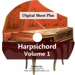 Harpsichord Volume 1 Ultimate Sheet Music DVD Collection