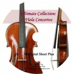 Ultimate Collection: Viola Concertos sheet music on CD
