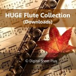 Huge Flute Sheet Music Collection (Downloads)