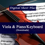 Viola and Piano/Keyboard Sheet Music Collection