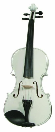 Buy Merano Full Size White Violin With Case Free Shipping
