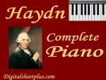 Haydn Complete Piano Sonatas Sheet Music Collection