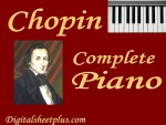 Chopin Complete Piano Sheet Music Collection