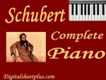 Schubert Complete Piano Sheet Music Collection