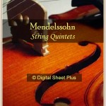 Mendelssohn - String Quintet No 2 in Bb, Op 87 (parts) sheet music
