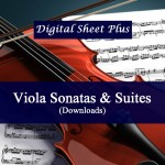 Viola Sonatas and Suites Sheet Music Collection in pdf format