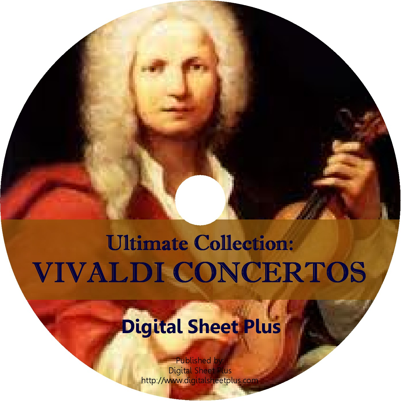 Ultimate Collection Vivaldi Concertos Sheet Music On Dvd